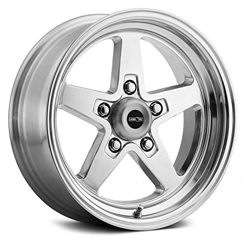 "-24mm Polished Wheel Rim 17"" Inch Sport Star 17x4.5 5x4.75"""