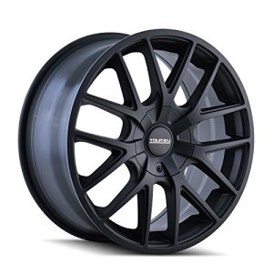 BLACK Wheel with Matte 18 x 8. inches /5 x 112 mm, 40 mm Offset