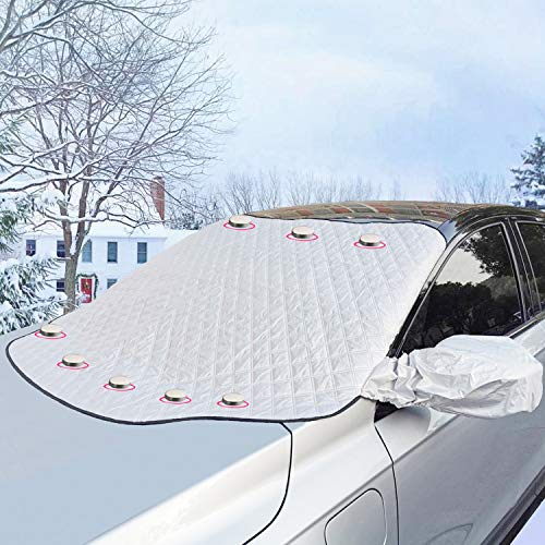 Car Windshield Snow Cover Ice Removal Sun Shade