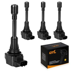 QYL 4Pcs Ignition Coils Pack for Altima Cube Sentra
