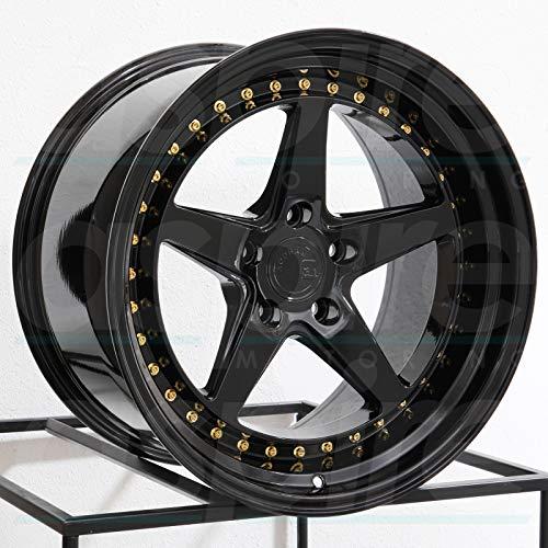 Black Wheel Rim DS5 5x114.3 35