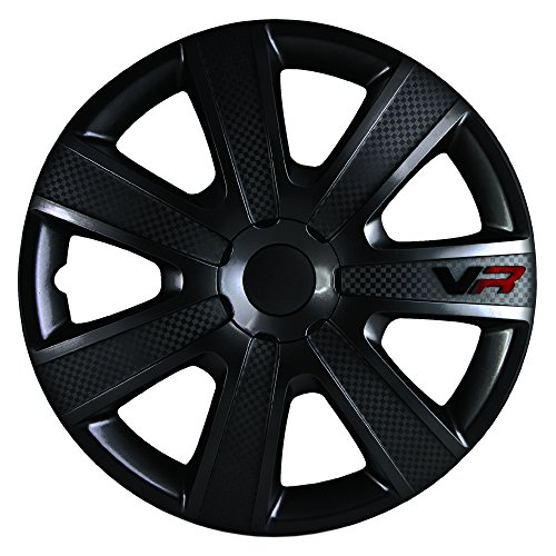 VR Carbon Wheel Cover Kit - Black - 16-Inch
