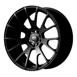 Matte Black Finish Wheel Motegi Racing MR118