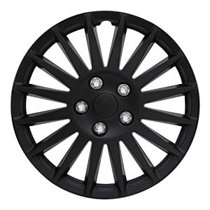"All Black 16"" Indy Wheel Cover Pilot Automotive"