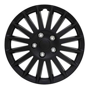 "All Black 16"" Indy Wheel Cover Pilot Automotive"