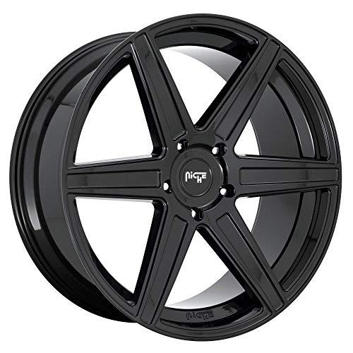 Niche Carini 24x10 5x150 +30mm Gloss Black