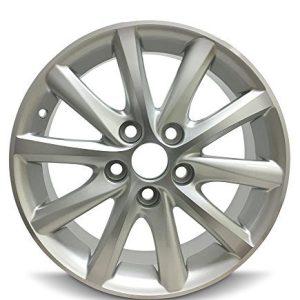 2010-2011 Toyota Camry 16 Inch 5 Lug Silver Aluminum Rim