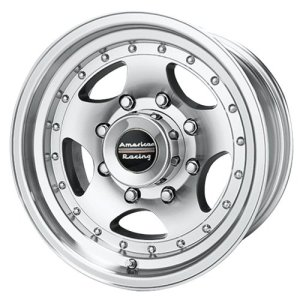 American Racing Custom Wheels Machined Wheel With Clearcoat