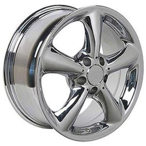 Mercedes Benz E S SLK CLK 17x7.5 Wheel Chrome Rim