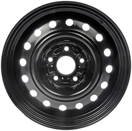 Steel Wheel with Black Painted Finish