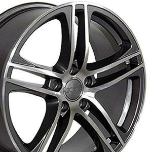 OE Wheels Beetle Audi A3 A8 A4 A5 A6 TT R8 Style AU07 18x8