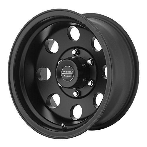 "Custom Wheels AR172 Baja Satin Black 17x8""/6x139.7mm"