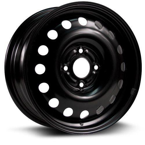 RTX, Steel Rim, New Aftermarket Wheel, black finish 15X6