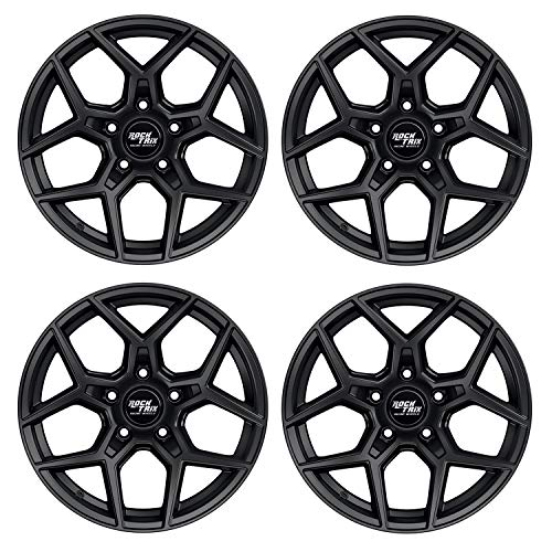 17 inch Wheels Compatible with Jeep Wrangler JK JL 5x5 Bolt Pattern
