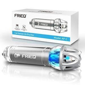 FRiEQ Car Air Purifier, Car Air Freshener and Ionic Air Purifier