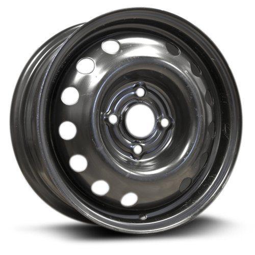 RTX, Steel Rim 14x5.5, 4-100 black finish