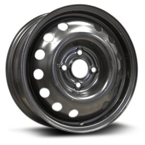 RTX, Steel Rim 14x5.5, 4-100 black finish