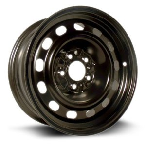 RTX, Steel Rim black finish Wheel, 16X7, 5X114.3