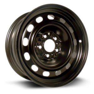 RTX, Steel Rim black finish Wheel, 16X7, 5X114.3