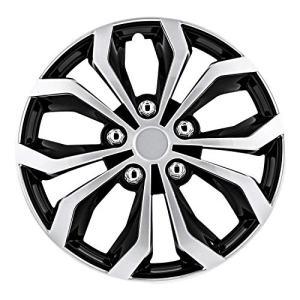 """Toyota Volkswagen VW Chevy Chevrolet Honda Black/Silver 15 Inch 15"""" Spyder Performance"""