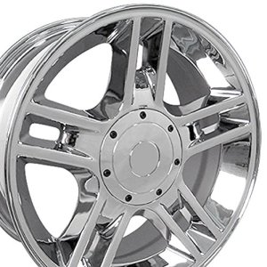 Ford F-150 Harley Style Chrome Rims 20x9 Wheels