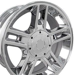 Ford F-150 Harley Style Chrome Rims 20x9 Wheels