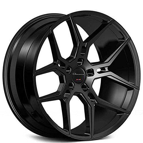 Giovanna Haleb – 20 Inch Rims – Set of 4 Black Wheels