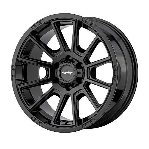 American Racing Intake Custom Wheel Gloss Black Rims