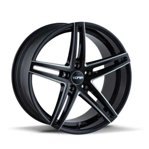 Touren TR73 Gloss Black Wheel Finish 35 mm Offset