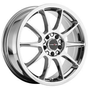 Chrome Wheel Rim 15x6.5 4x100/4x108 +38mm