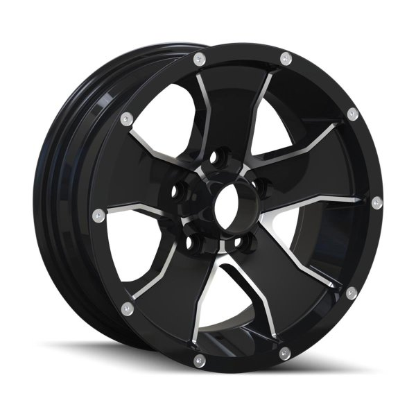 ION TRAILER 14 Black/Machined Face Wheel
