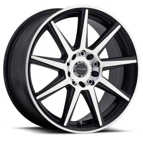"""16"""" Inch Wheel Rim 5X115/5X110 40mm 144M Storm MC - Machined"""