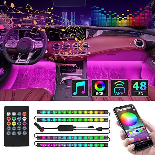 CT CAPETRONIX Interior Car Lights, Car Led Strip Lights Interior