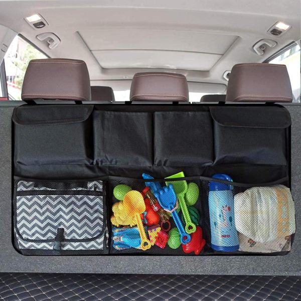 Backseat Hanging Organizer with 8 Large Storage Bag