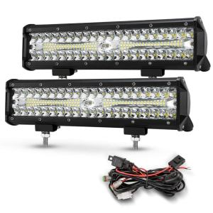 12 Inch Led Light Pods, 2Pcs 300W Off Road Driving LED