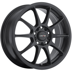 16 Black Wheel Rim 5x100 & 5x4.5 with a 38mm Offset and a 73.1 Hub Bore