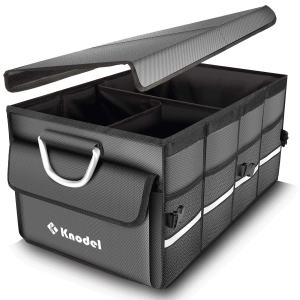 Knodel Car Trunk Organizer, Foldable Cover