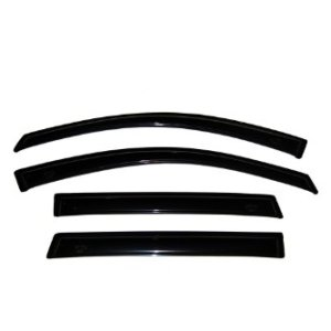 1996-2004 Pathfinder 4-Door/Nissan QX4 Side Window Deflector Dark Smoke