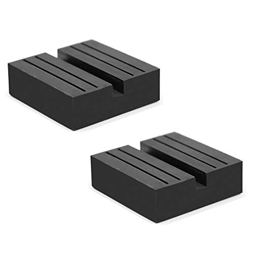 Hitter Jack Rubber Pad, Car Black Anti-Slip Rail Adapter