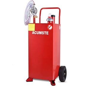 30 Gallon Fuel Tank, Portable Gasoline Diesel Gas Caddy