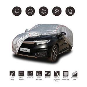 Shieldo Deluxe Car Cover with Build-in Storage Bag