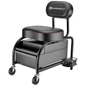 Powerbuilt Professional Car Detailers Mechanics Roller Seat