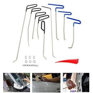 Dent Removal Rods Tools Kit Paintless Car