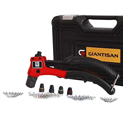 Rivet Gun, GIANTISAN Hand Riveter Kit