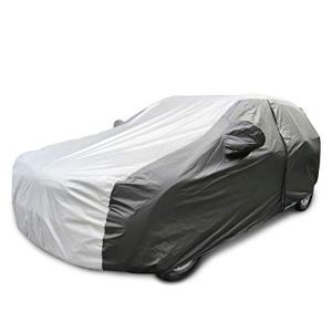 Waterproof All Weather Car Cover with Zipper Door