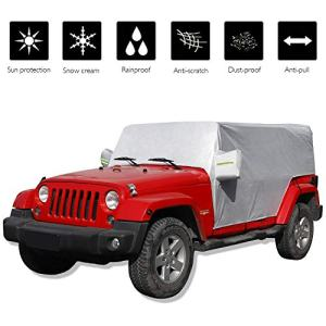 JeCar for Jeep Car Cover Weatherproof Car Cover
