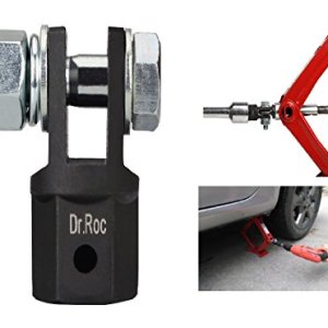 Dr.Roc Scissor Jack Adapter for 1/2 Inch Drive Impact Wrench
