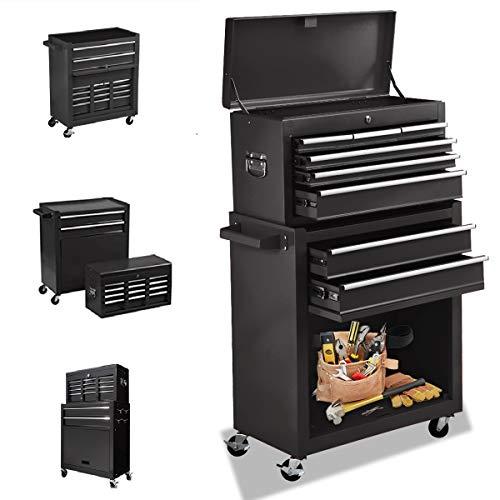 8 Drawers Tool chest High Capacity Tool Box