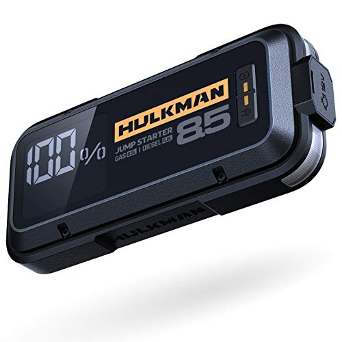 HULKMAN Alpha85 Jump Starter Lithium Portable Car Battery