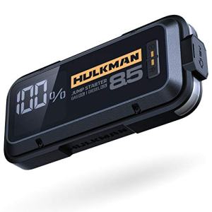 HULKMAN Alpha85 Jump Starter Lithium Portable Car Battery